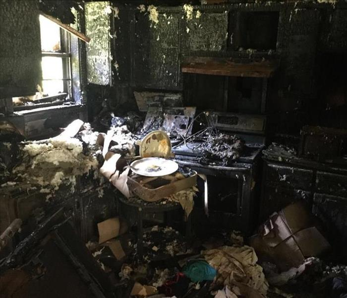 Kitchen Fire in Grenada, MS  Before